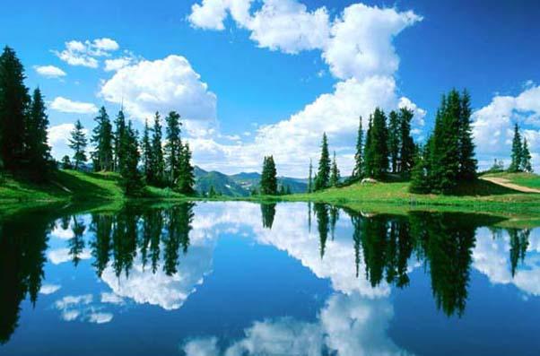 Над вечным покоем в стране тысячи озер