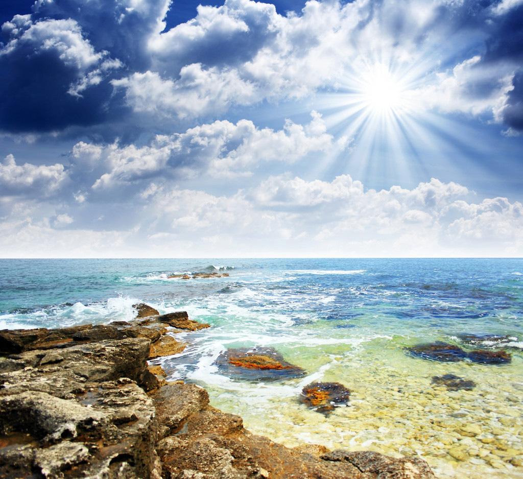 Фото море и осень